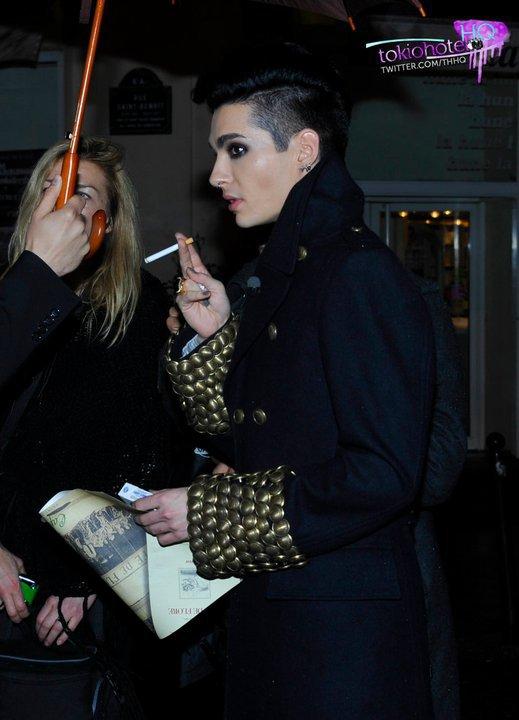 Paris - 5 Octobre 2010 - Durch die Nacht mit Bill Kaulitz ( Arte )