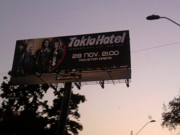 Rumeur : Le concert au Chili pourrait être enregistré