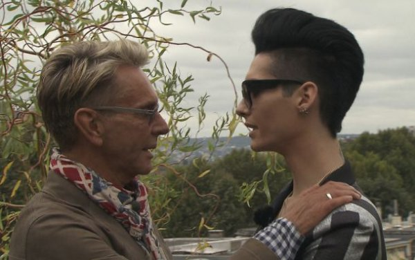 Bill Kaulitz & Wolfgang Joop  [ Paris - 5&6 Oct. ] - Durch die Nacht mit Bill Kaulitz [ Arte ]