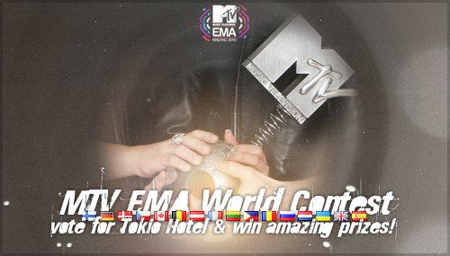 Gagnants du EMA World Contest..