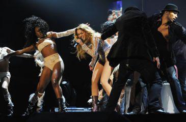Tout manquait à la cérémonie de MTV