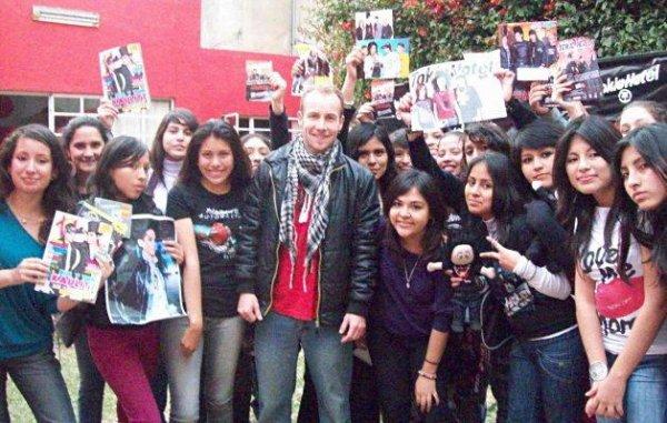 Les fans donneront des chullos à Tokio Hotel