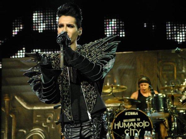 Le premier spectacle au Brésil, les cris des 5 000 fans absorbent le son de Tokio Hotel