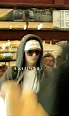 Aéroport de Santiago - 26 Novembre