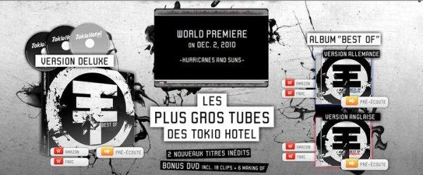 Newsletter Tokio Hotel
