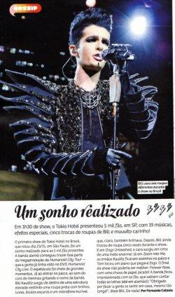 """""""Capricho"""" n°1111 (Brésil) - Un rêve réalisé"""