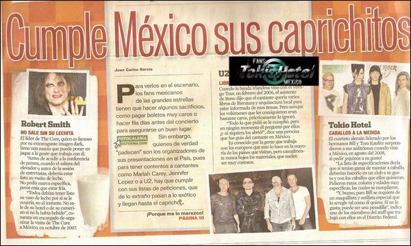 Le Mexique se plie aux désirs des artistes