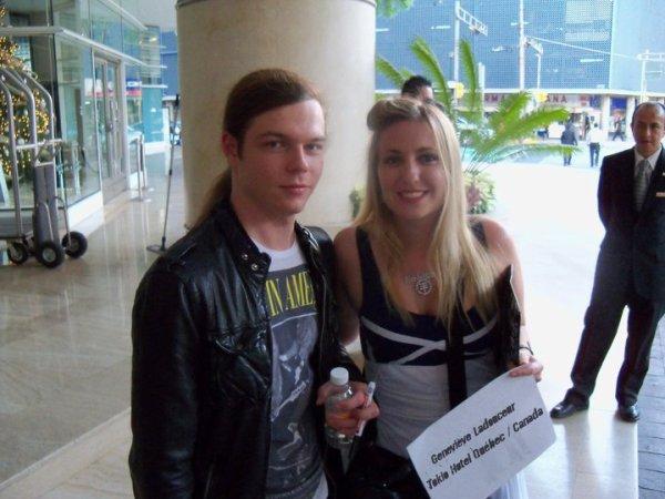 Geneviève et Georg à l'Hotel de Mexico, le 3 Décembre ♥: