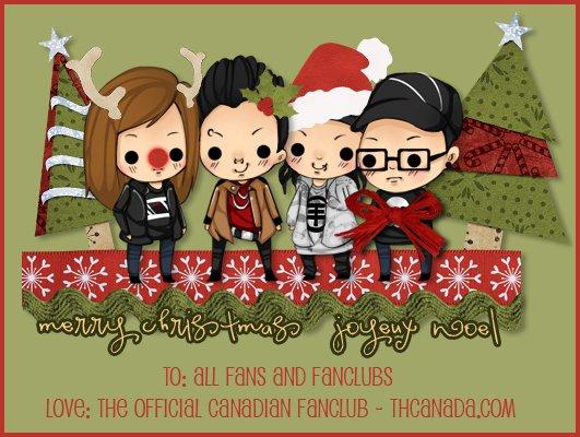 THCanada & SaxxBillKk vous souhaitent de joyeuses fêtes et une belle année 2011!