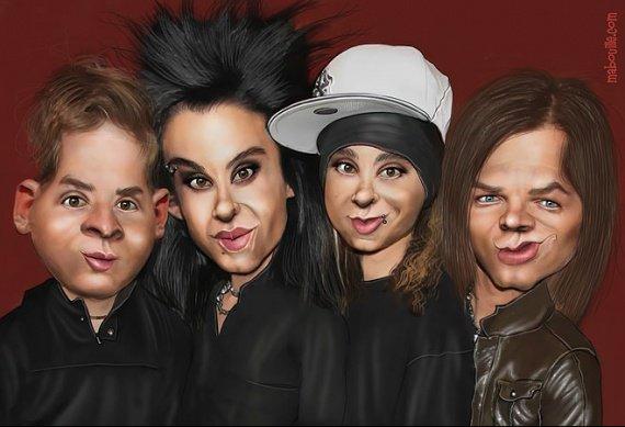 Un nouveau livre de Tokio Hotel sortira au printemps.