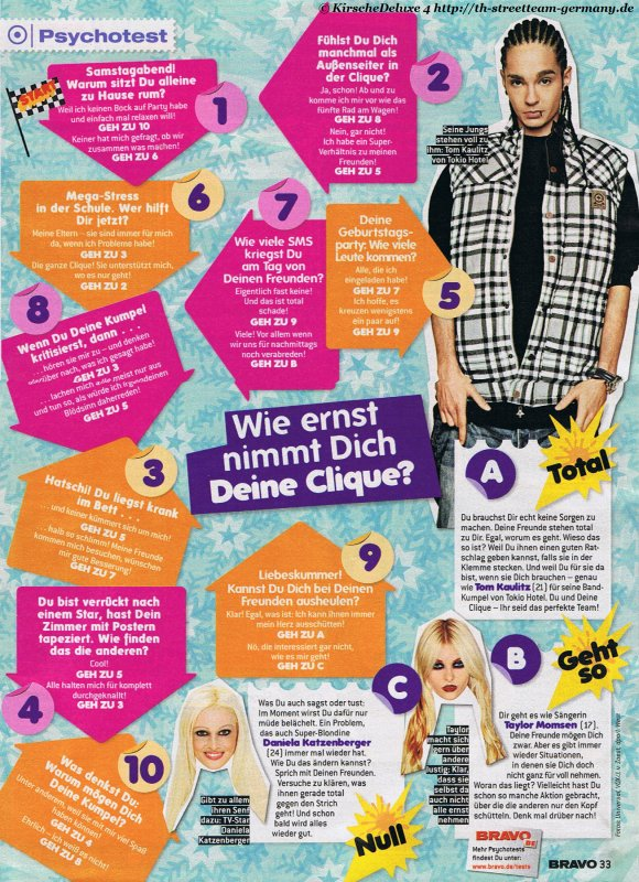 Bravo nº1 2011 (Allemagne).