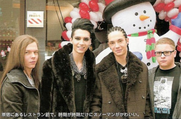 CosmoGIRL - 13.01.2011 - Scream for Tokio Hotel ! (Indonésie)