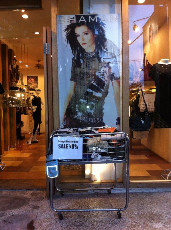 Affiche de Bill dans un magasin à Bali - Indonésie
