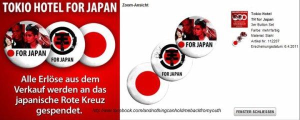 Action de soutien pour le Japon