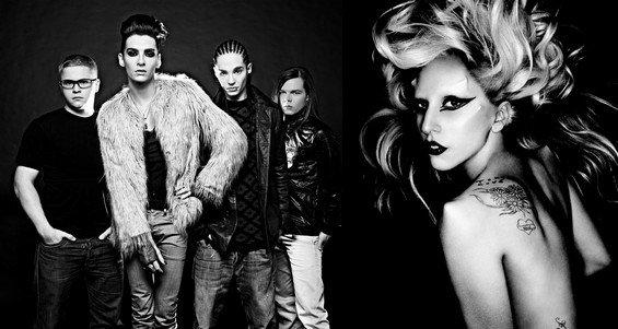 Lady Gaga et Tokio Hotel : « We want to break free » - Une chanson de Queen