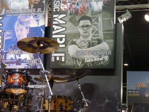 Posters de Gustav au Musikmesse festival à Francfort (8&9 Avril)