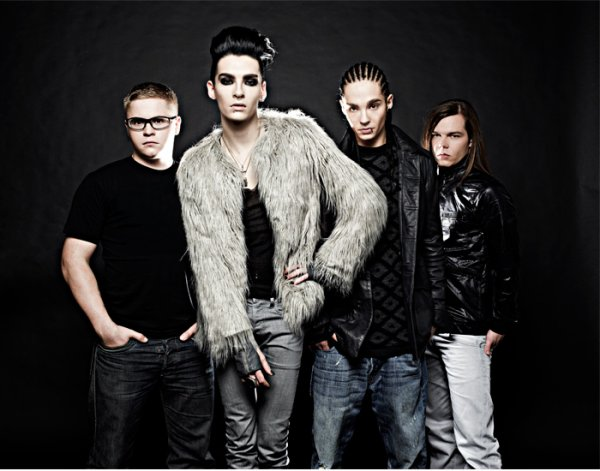 Conférence en direct avec Tokio Hotel