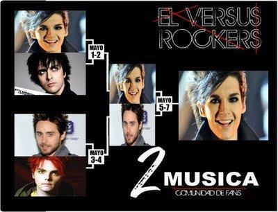 Bill est le gagnant de «El Versus Rocker» :)