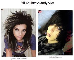 Bill Kaulitz VS Andy Sixx