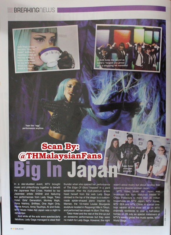 """Galaxie"" n° 7/11 (Malaisie) – Big In Japan"