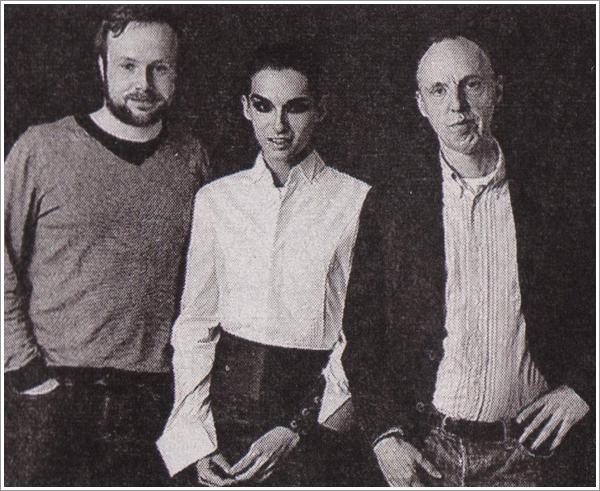 Bill Kaulitz avec Hannes Roß et Kester Schlenz (2010)