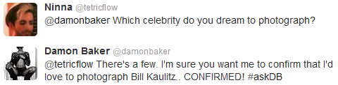 Twitter - Damon Baker