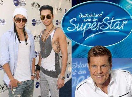 Les jumeaux de Tokio Hotel jurys dans Deutschland Sucht Den Superstar !