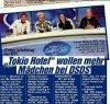 BILD, 25.09.2012 (Allemagne) - Tokio Hotel veulent plus de filles à DSDS!