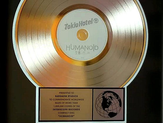 L'album «Humanoid» est dique d'or !!!