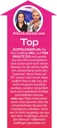 """""""Miss"""" n° 11/12 (Autriche) - Top et flop"""