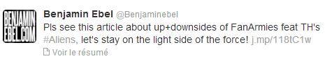 Twitter - Benjamin Ebel