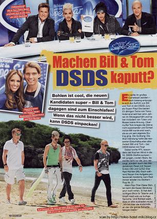 """Popcorn"""" n° 3/13 (Allemagne) - Bill et Tom ruinent-ils DSDS ?"""