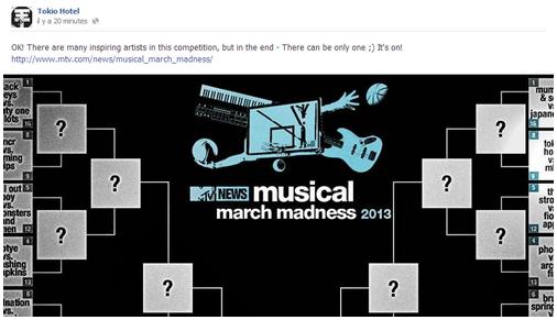 Facebook - Tokio Hotel (18-19-20 Mars)