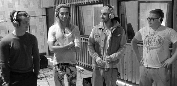 2013 - Tokio Hotel au studio