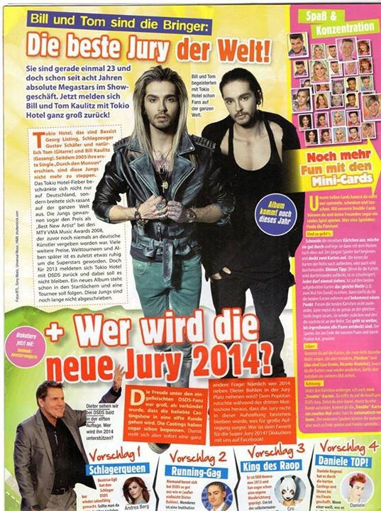 New Stars Casting Special #4/2013 - Allemagne