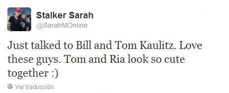 Twitter - Stalker Sarah (30 Juin)