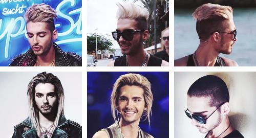 Cheveux de Bill à travers les âges.. :-)