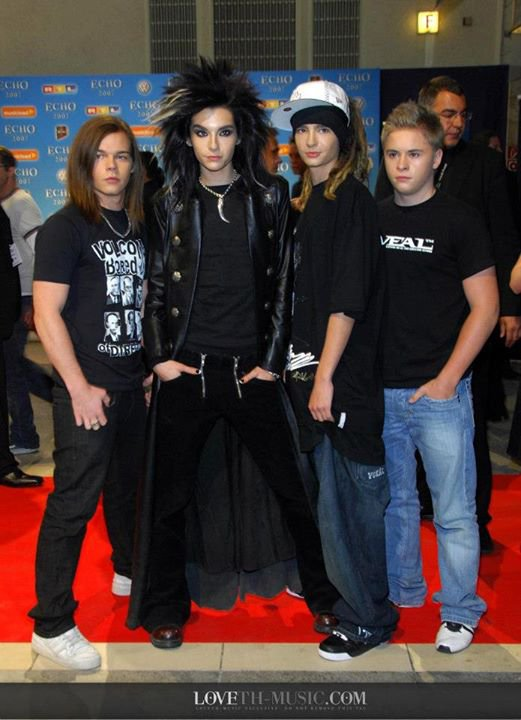 Tokio Hotel @ ECHO AWARDS 2007, BERLIN [25.03.2007]