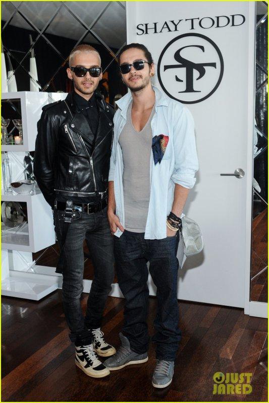 Bill & Tom @ Shay Todd's fashion preview 2014 - Los Angeles, USA 31.07.2013 - HQ -
