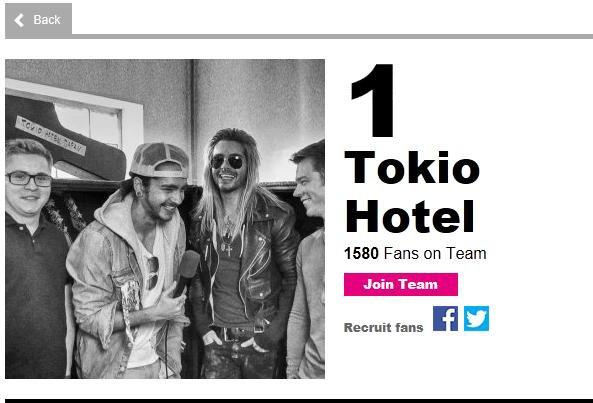 MTV EMA 2013 [10.11.2013], Amsterdam | Meilleurs Fans - Tokio Hotel's Fan Team