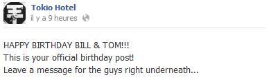 Bannière pour l'Anniversaire des Twins sur le FB Ofiiciel :)