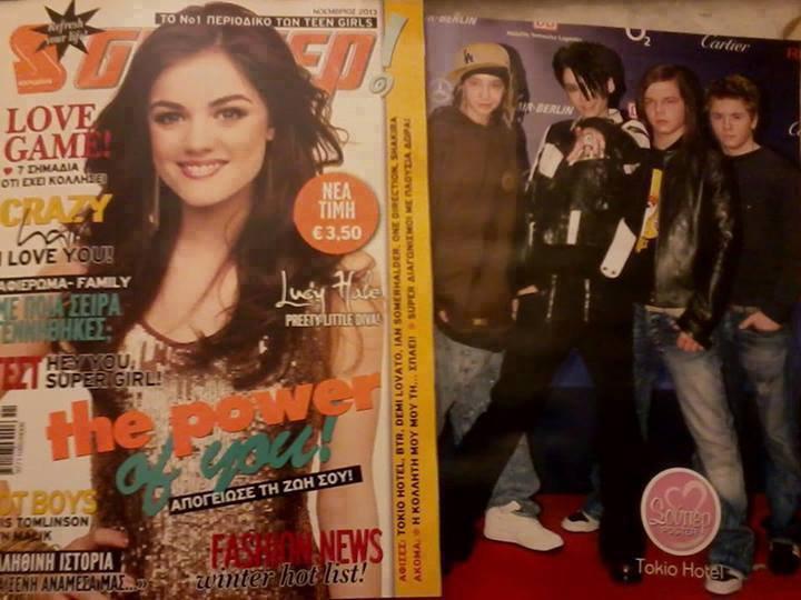 Posters de Tokio Hotel - Dans des Revues :)