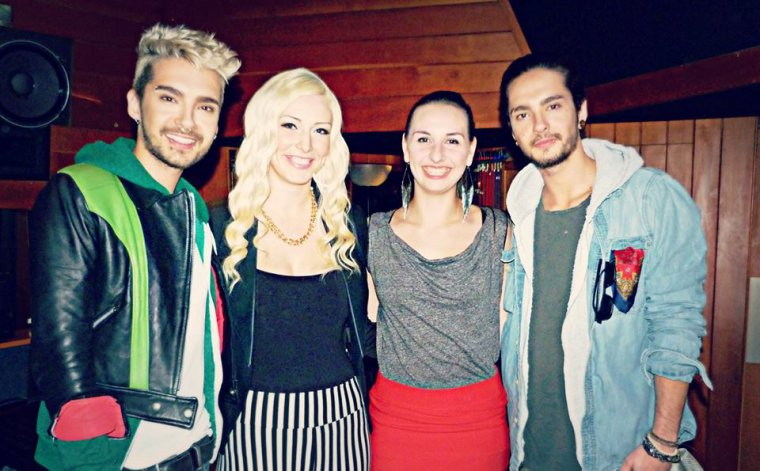 Bill, Lauren, Marie et Tom