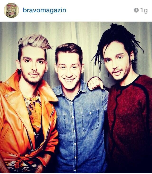 Bill, Tom & Sascha !!! -> IG Bravomagazin (21.11.13)
