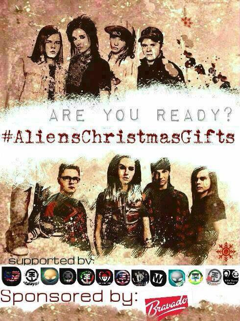 Aliens Christmas Gifts : Gagner de merveilleux prix pour Noël !!! :D