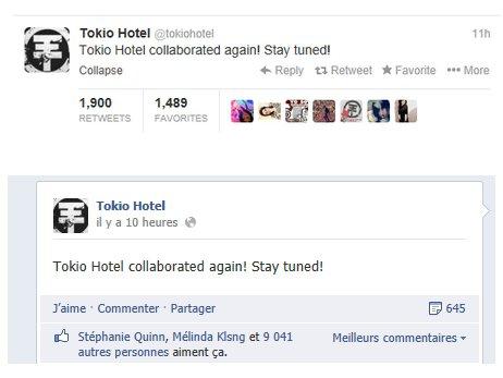 Tokio Hotel collabore avec un autre Artiste :D !!!