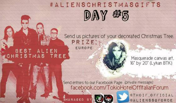 Aliens Christmas Gitfs : Day #5