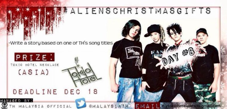 Aliens Christmas Gifts : Day #8