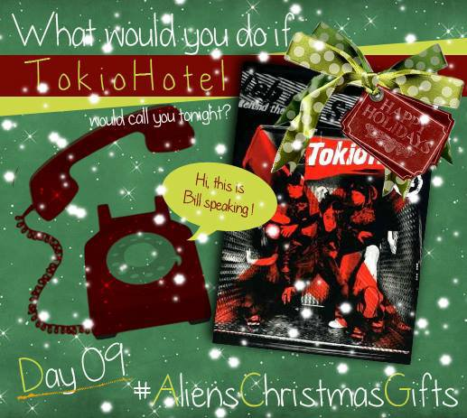 Aliens Christmas Gifts : Day #9