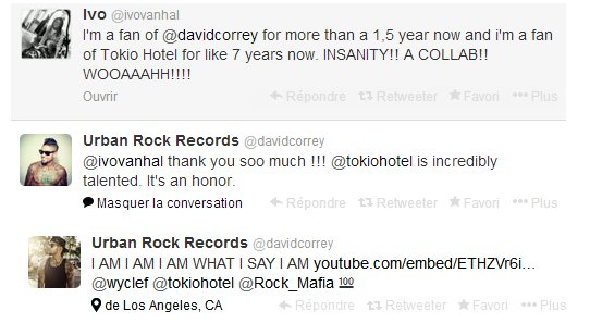 La collaboration de Tokio Hotel avec Rock Mafia